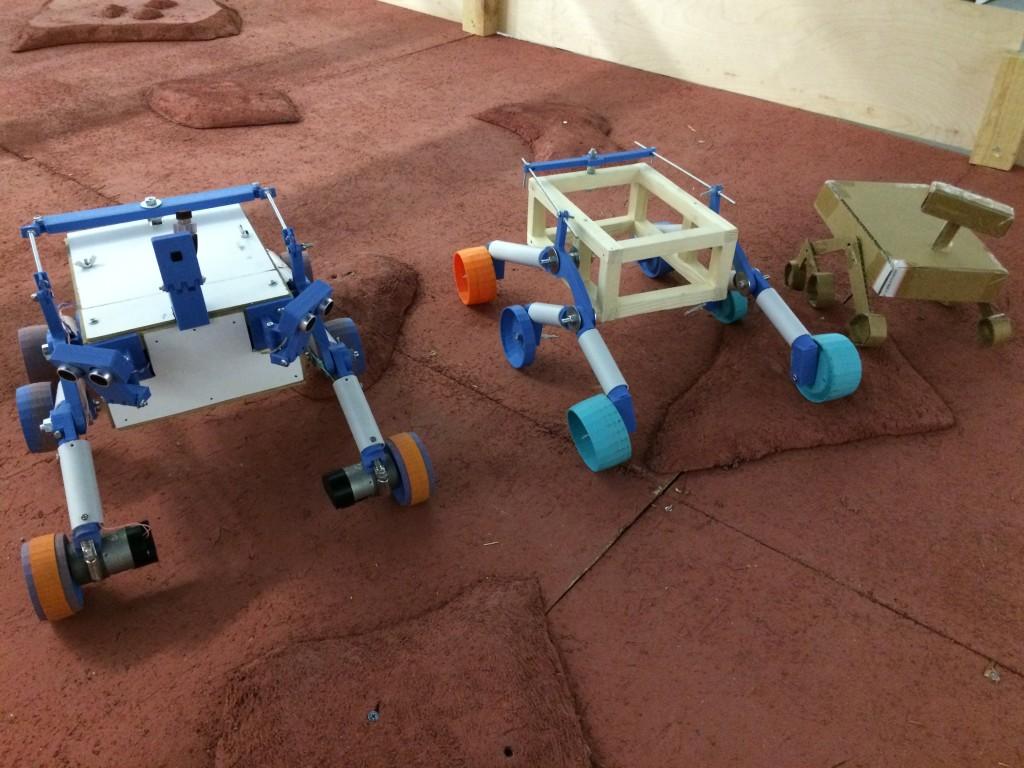 As três gerações do nosso Mars Rover
